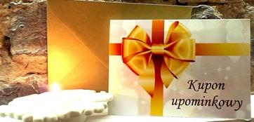 kupon upominkowy, bon, prezent na urodziny, święta